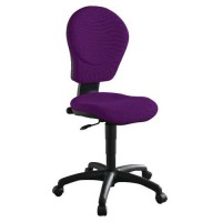 Chaise kim classic contact permanent 500 aubergine,