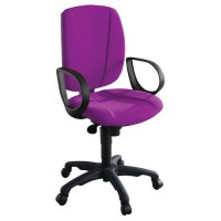 Fauteuil de bureau astral contact permanent 378 magenta