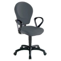 Fauteuil kim classic contact synchrone 1312 gris,