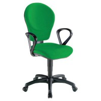 Fauteuil kim classic contact synchrone 2164 vert anis,