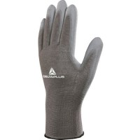 Gants de manutention tricot polyester/ paume pu dpve702pg