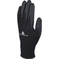 Gants de manutention tricot polyester/ paume pu dpve702pn