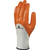 Gants de manutention tricot polyester - enduction nitrile