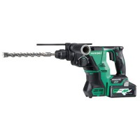 Perforateur multi volt 3 modes sds+ 28mm 36/18v hitachi,