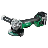 Meuleuse diamètre 125mm 18v 5ah li-ion brushless hitachi,