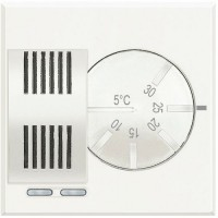 Thermostat d'ambiance Électronique white - 2 modules