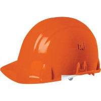Casque de protection de protection orange