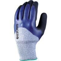 Gants de manutention de protection jauge 10 double enduction nitrile