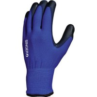 Gants de manutention tricoté double support À enduction pu de taille 8