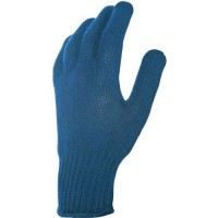 Gants de manutention de protection avec enduction de pvc bleu