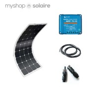 Kit solaire 140w-12v flexible camping-car / bateau