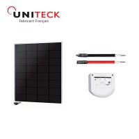 Kit solaire 50w back-contact 12v uniteck &nbs