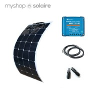 Kit solaire 100w-12v flexible camping-car/bateau