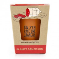 Kit 'on s'en paye une tranche' - plante saucisson
