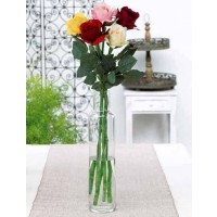 Roses blanches artificielles